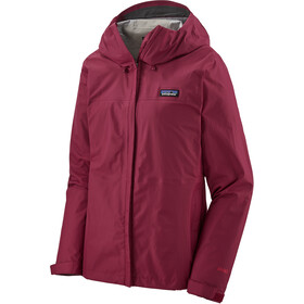 Patagonia Torrentshell Chaqueta 3 Capas Mujer, roamer red